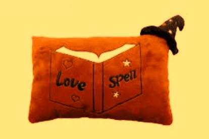 Love Spell Picture Under Pillow