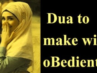 Wazifa To Make Wife Obedient
